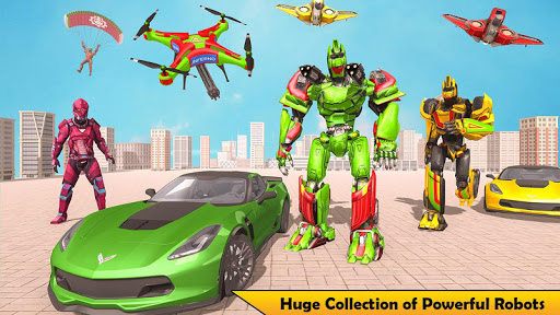 Drone Robot Transforming Game 2.3 screenshots 10