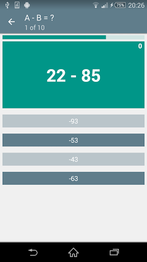 Math Game MA-2.2.7 screenshots 2