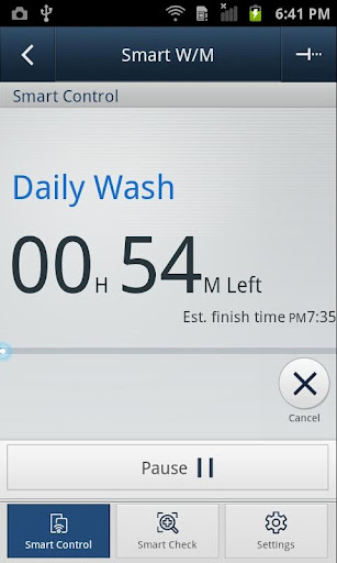 SAMSUNG Smart Washer/Dryer apktram screenshots 4