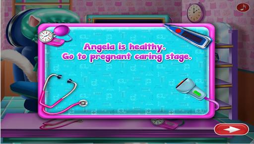 kittie Pregnant check up - ema pregnancy cat games 1.0.0 screenshots 6