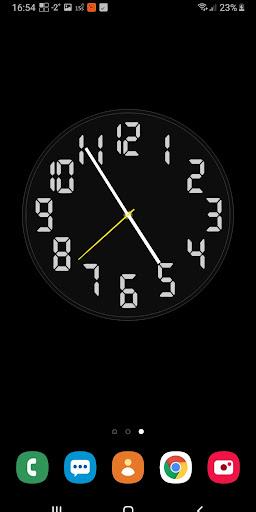 Battery Saving Analog Clocks Live Wallpaper 6.5.1 Screenshots 6