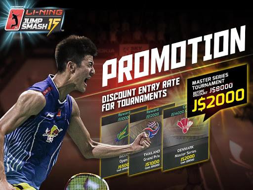 LiNing Jump Smash 15 Badminton  screenshots 1