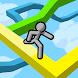 蹴りジャンプ-停電した洞窟内をひたすらジャンプでかけ登れ!-