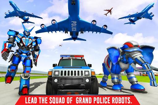 Police Elephant Robot Game: Police Transport Games 1.0.9 Screenshots 6