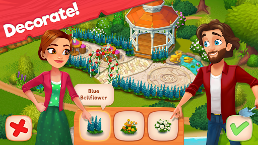 Delicious B&B: Match 3 game & Interactive story screenshots 10