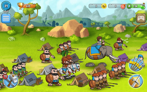 Spartania: The Orc War! Strategy & Tower Defense! 3.17 Screenshots 3