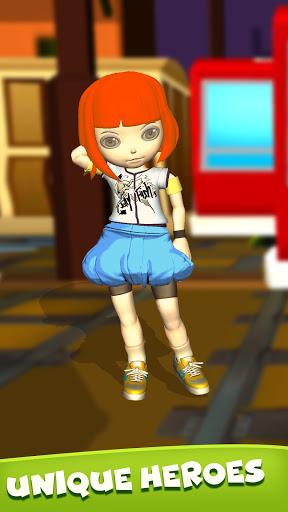 Subway Girl Runner Surf Game  screenshots 7