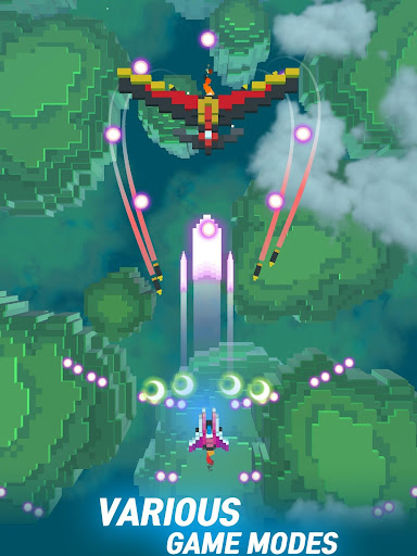 Sky Wings: Pixel Fighter 3D apktram screenshots 10