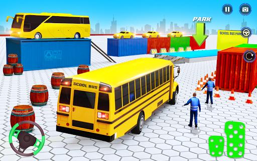 School Bus Driving Simulator Bus Parking Games 20 Screenshots 6
