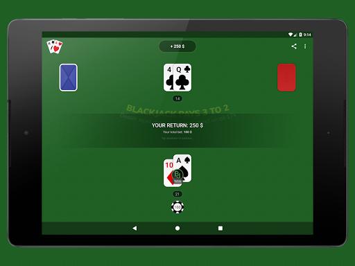 Blackjack - Free & Offline 1.7.1 Screenshots 7