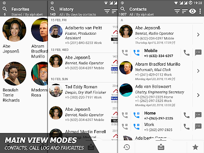 Phone and Contacts - AGContacts, Lite edition 10.10.03.25121