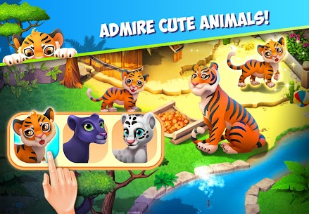 Family Zoo MOD (Unlimited Tickets) 3