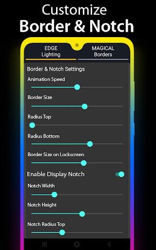 Edge Lighting - Borderlight Live Wallpaper 2.5 Screenshots 11