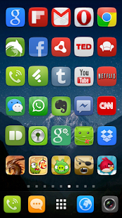GO Launcher EX UI5.0 theme Screenshot