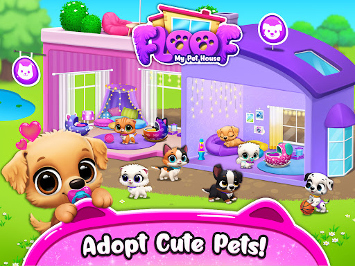FLOOF - My Pet House - Dog & Cat Games  screenshots 17