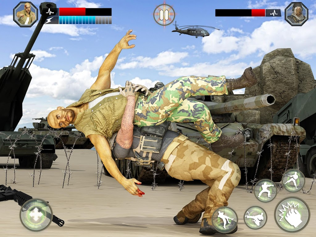 US Army Fighting Games: Kung Fu Karate Battlefield  poster 15