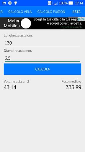calcoli pesca sub screenshot 1