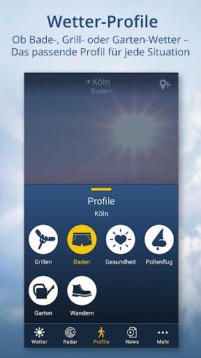 wetter.de u2013 Dein Wetter, immer & u00fcberall android2mod screenshots 3