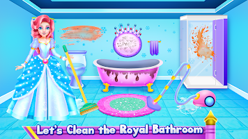 Princess Ice Castle Cleaning and Decoration