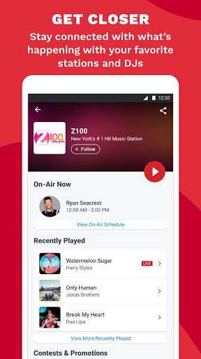 iHeart: Radio, Music, Podcasts android2mod screenshots 6
