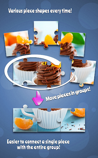 Cupcakes Jigsaw Puzzle Game For PC Windows (7, 8, 10, 10X) & Mac Computer Image Number- 11