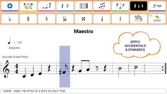 Maestro – Music Composer 1.0.517 Mod + APK + Data UPDATED 2