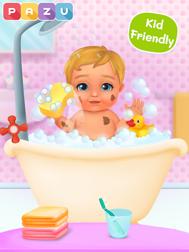 Chic Baby 2 - Dress up & baby care games for kids  screenshots 18
