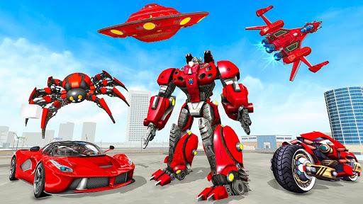 Spider Robot Game: Space Robot Transform Wars 1.0 screenshots 1