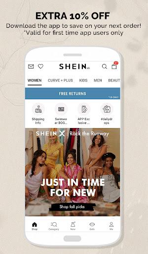 SHEIN - The Hottest Trends & Fashion apktram screenshots 2