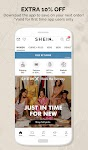 screenshot of SHEIN - The Hottest Trends & Fashion