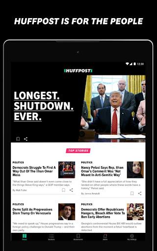 HuffPost - Daily Breaking News & Politics 25.1.0 Screenshots 5