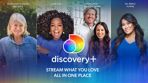 Foto do discovery+ | Stream TV Shows and Real-Life Series