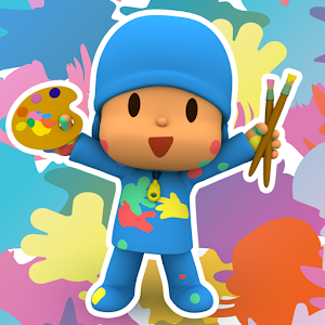Pocoyo Colors: Free drawings, to color!