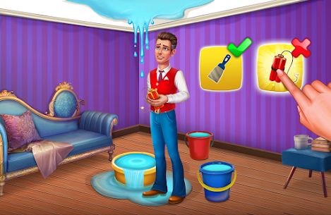 Hotel Blast Mod Apk 1.19.1 Unlimited Coins, Key Download For Android 2