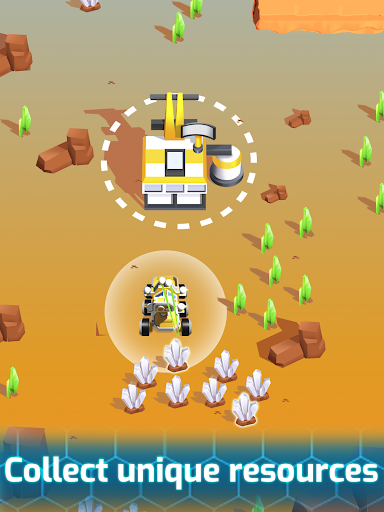 Space Rover: idle planet mining tycoon simulator 1.93 screenshots 13