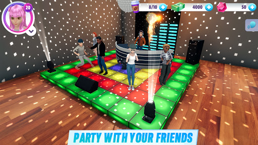 Virtual Sim Story: 3D Dream Home & Life screenshots 12