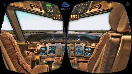 VR AirPlane Flight Simulator 1 screenshots 2
