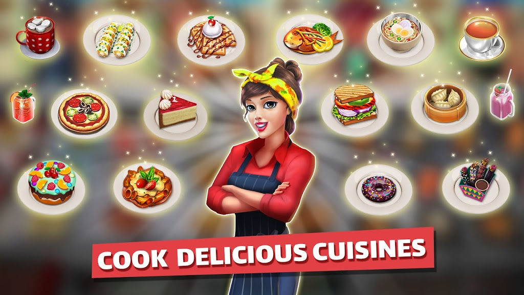 Cooking Games: Food Truck Chef My Cafe Restaurant poster 16