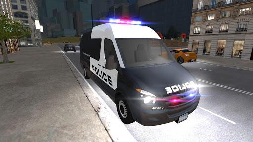 American Police Van Driving: Offline Games No Wifi 1.1 screenshots 7