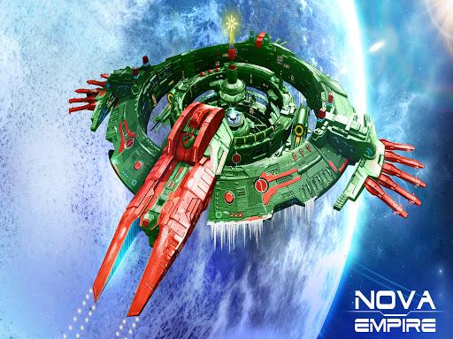 Nova Empire: Commandant spatial -MMOde stratégie APK MOD – Monnaie Illimitées (Astuce) screenshots hack proof 1