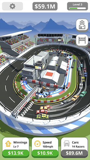 Idle Tap Racing apklade screenshots 1