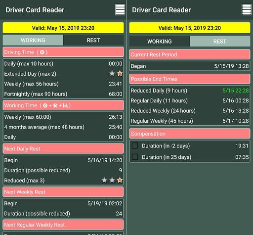 Driver Card Reader  Screenshots 6