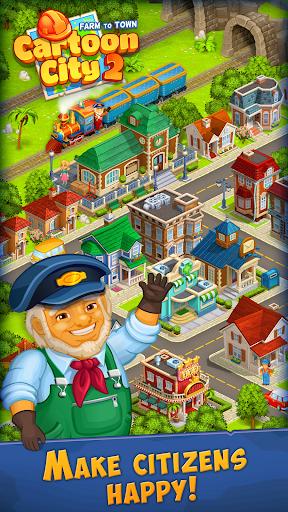Cartoon City 2:Farm to Town.Build your home,house modavailable screenshots 22