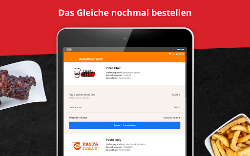 LIEFERHELD | Order Food  screenshots 10