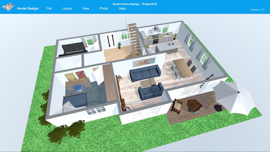 Smart Home Design | 3D Floor Plan