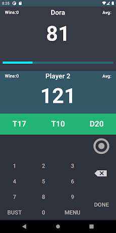 Darts Score Easy scoreboardのおすすめ画像3