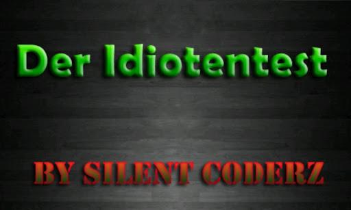 Idiotentest - Deutsch 2.1 screenshots 1
