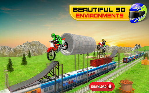 Bike Stunt Racing 3D - Free Games 2020 1.2 Screenshots 2