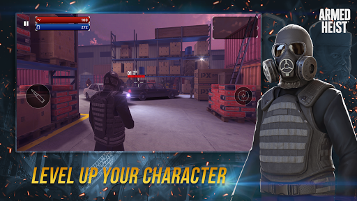 Armed Heist: TPS 3D Sniper shooting gun games goodtube screenshots 6