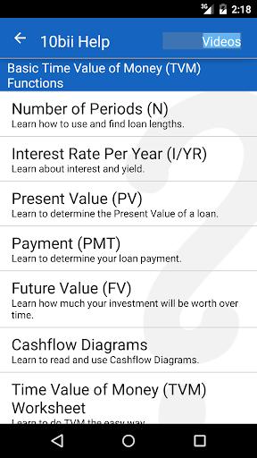 10bii Financial Calculator  screenshots 4